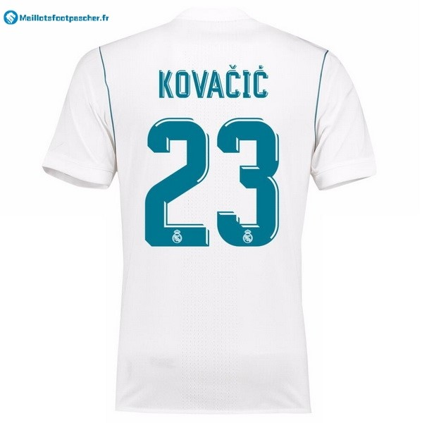 Maillot Foot Pas Cher Real Madrid Domicile Kovacic 2017 2018