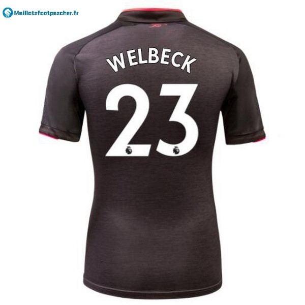 Maillot Foot Pas Cher Arsenal Third Welbeck 2017 2018