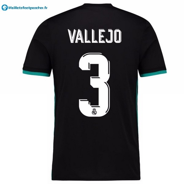 Maillot Foot Pas Cher Real Madrid Exterieur Vallejo 2017 2018