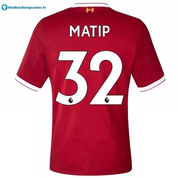 Maillot Foot Pas Cher Liverpool Domicile Matip 2017 2018