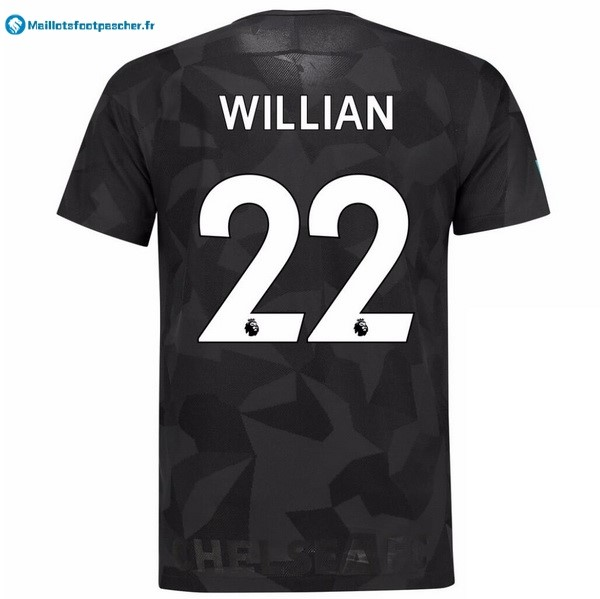 Maillot Foot Pas Cher Chelsea Third Willian 2017 2018