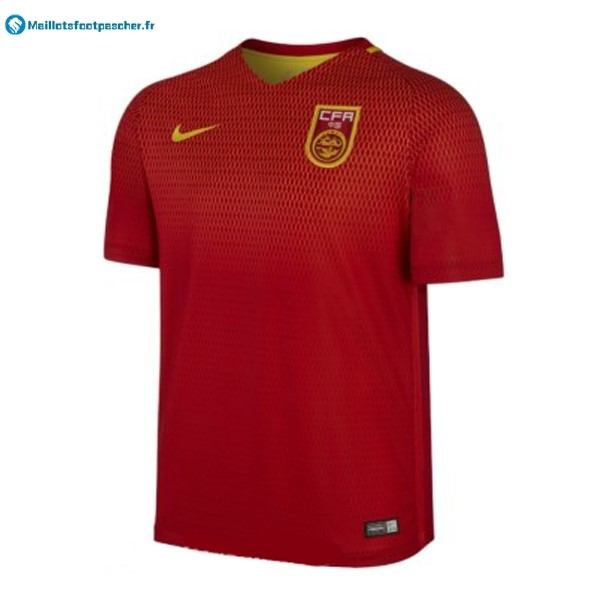 Maillot Foot Pas Cher Chine Domicile 2017