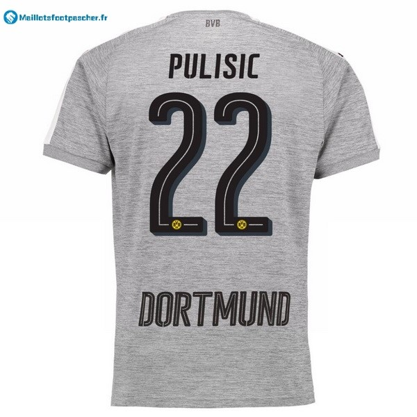 Maillot Foot Pas Cher Borussia Dortmund Third Pulisic 2017 2018