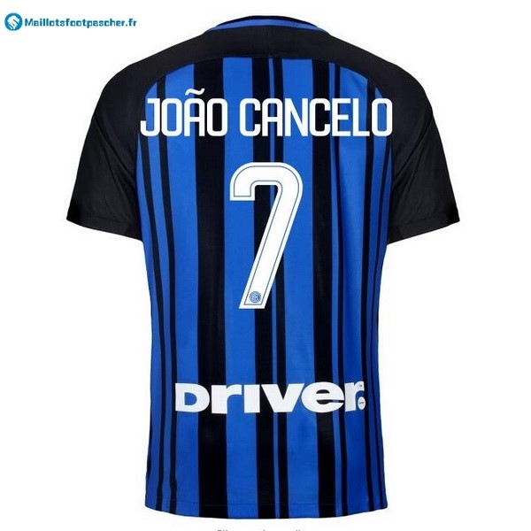 Maillot Foot Pas Cher Inter Domicile Joao Cancelo 2017 2018