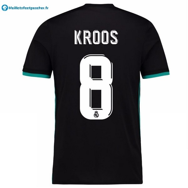 Maillot Foot Pas Cher Real Madrid Exterieur Kroos 2017 2018