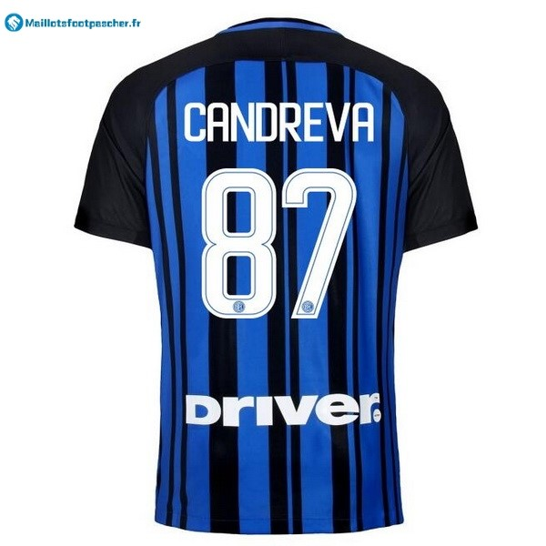 Maillot Foot Pas Cher Inter Domicile Candreva 2017 2018