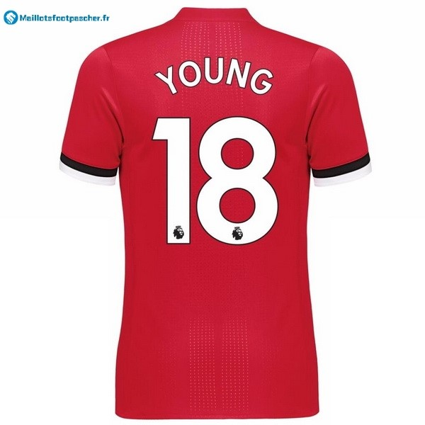 Maillot Foot Pas Cher Manchester United Domicile Young 2017 2018