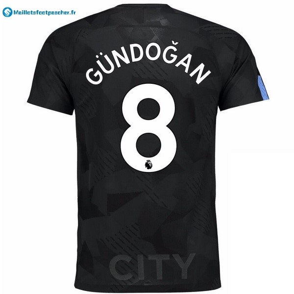Maillot Foot Pas Cher Manchester City Third Gundogan 2017 2018