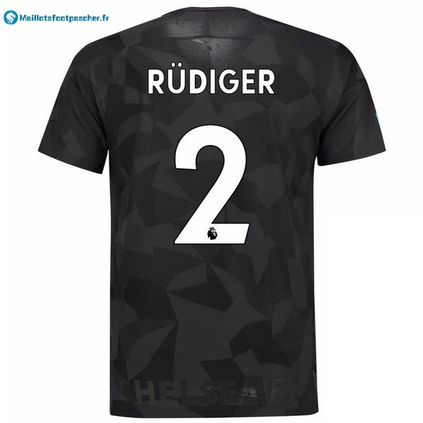 Maillot Foot Pas Cher Chelsea Third Rudiger 2017 2018