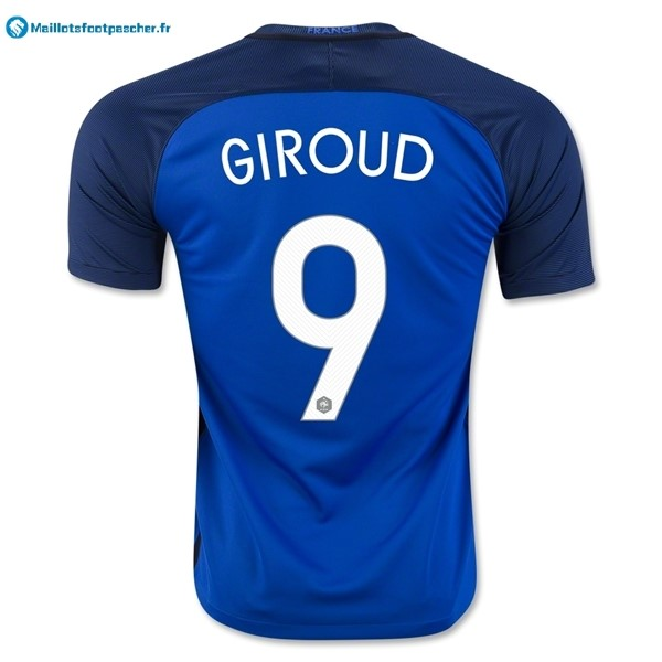 Maillot Foot Pas Cher France Domicile Giroud 2016