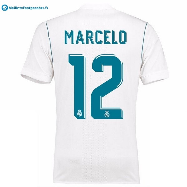 Maillot Foot Pas Cher Real Madrid Domicile Marcelo 2017 2018