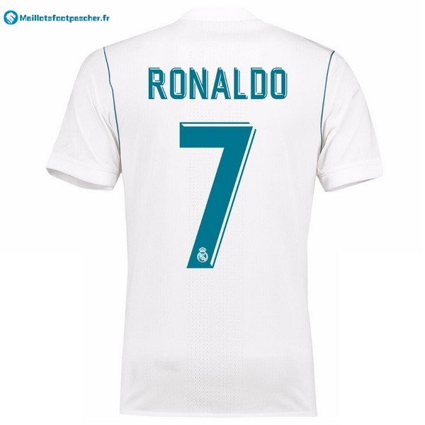 Maillot Foot Pas Cher Real Madrid Domicile Ronaldo 2017 2018