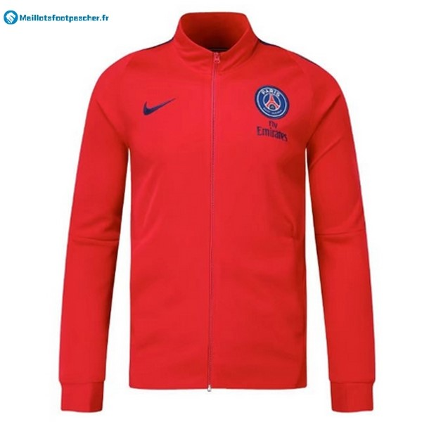 Veste Foot Pas Cher Paris Saint Germain 2017 2018 Rouge