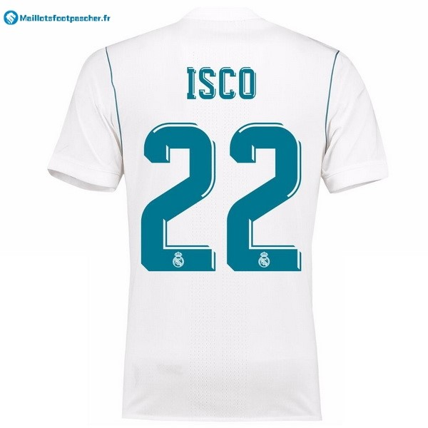 Maillot Foot Pas Cher Real Madrid Domicile Isco 2017 2018