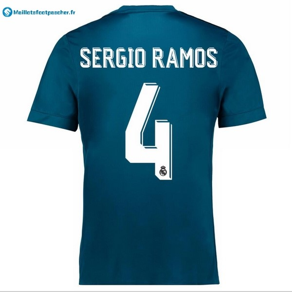 Maillot Foot Pas Cher Real Madrid Third Sergio Ramos 2017 2018