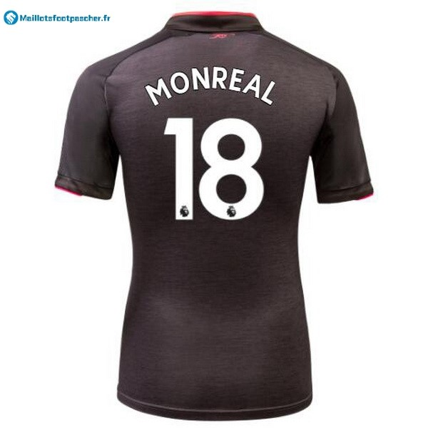 Maillot Foot Pas Cher Arsenal Third Monreal 2017 2018