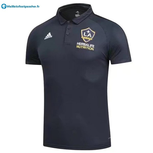 Polo Foot Pas Cher Los Angeles Galaxy 2017 2018 Noir