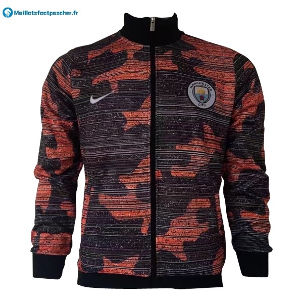 Veste Foot Pas Cher Manchester City 2017 2018 Orange