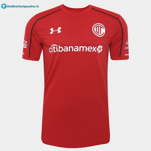 Maillot Foot Pas Cher Deportivo Toluca Domicile 2017 2018