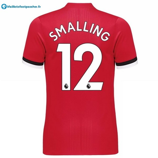 Maillot Foot Pas Cher Manchester United Domicile Smalling 2017 2018