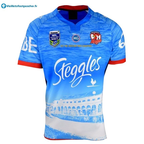 Maillot Rugby Pas Cher Sydney Roosters NRL Champion 2017