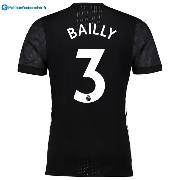 Maillot Foot Pas Cher Manchester United Exterieur Bailly 2017 2018