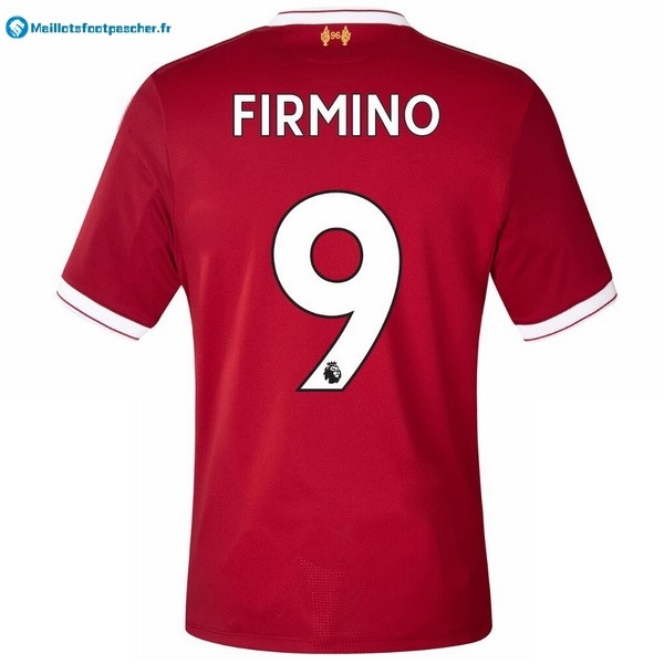 Maillot Foot Pas Cher Liverpool Domicile Firmino 2017 2018