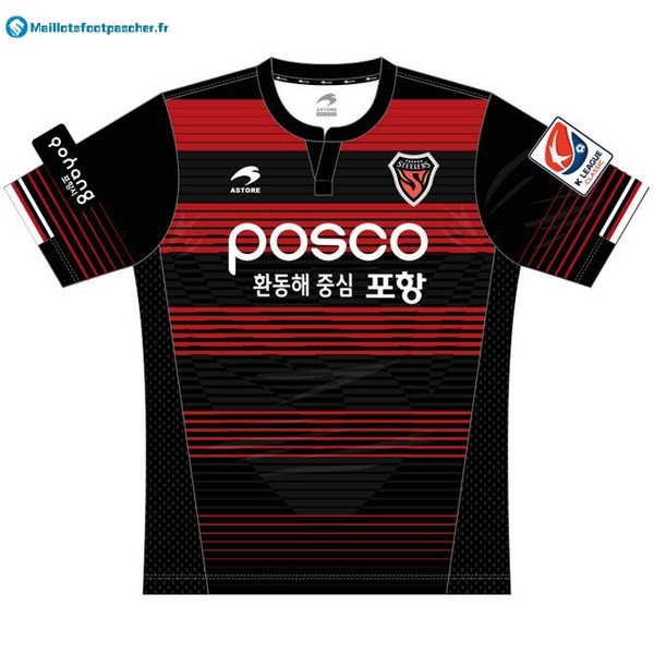Maillot Foot Pas Cher Pohang Steelers Domicile 2017 2018 Astore