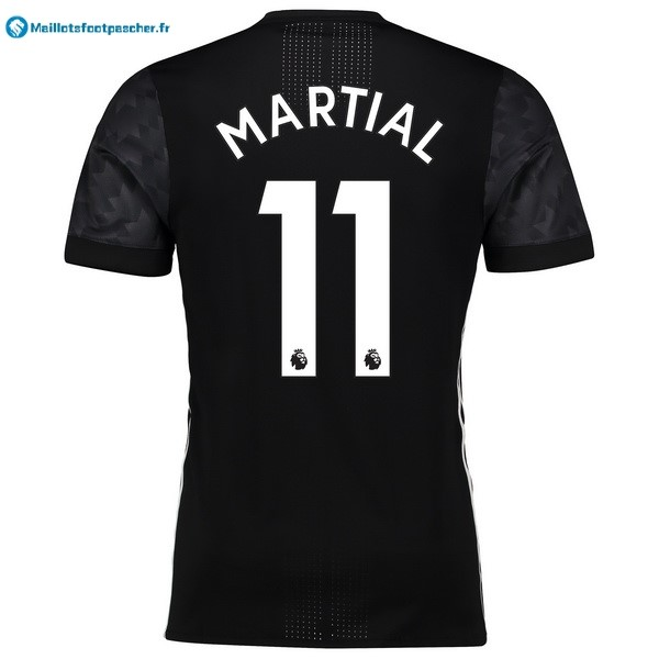 Maillot Foot Pas Cher Manchester United Exterieur Martial 2017 2018
