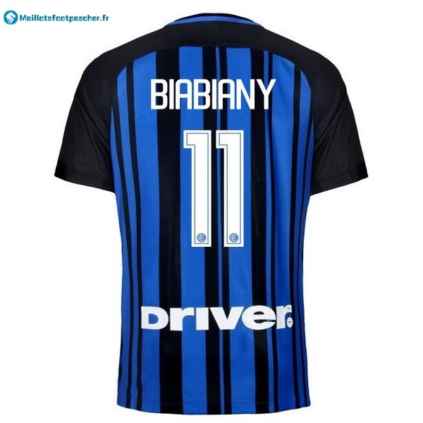 Maillot Foot Pas Cher Inter Domicile Biabiany 2017 2018