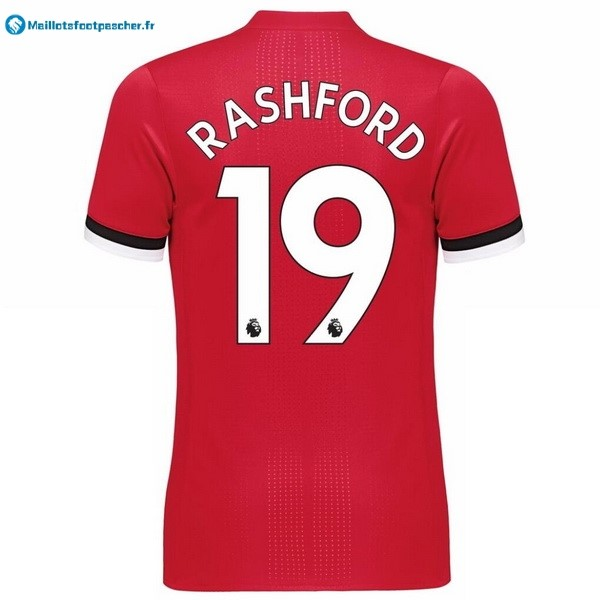 Maillot Foot Pas Cher Manchester United Domicile Rashford 2017 2018