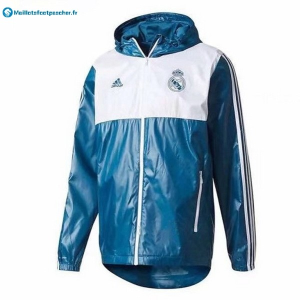 Coupe Vent Real Madrid 2017 2018 Bleu