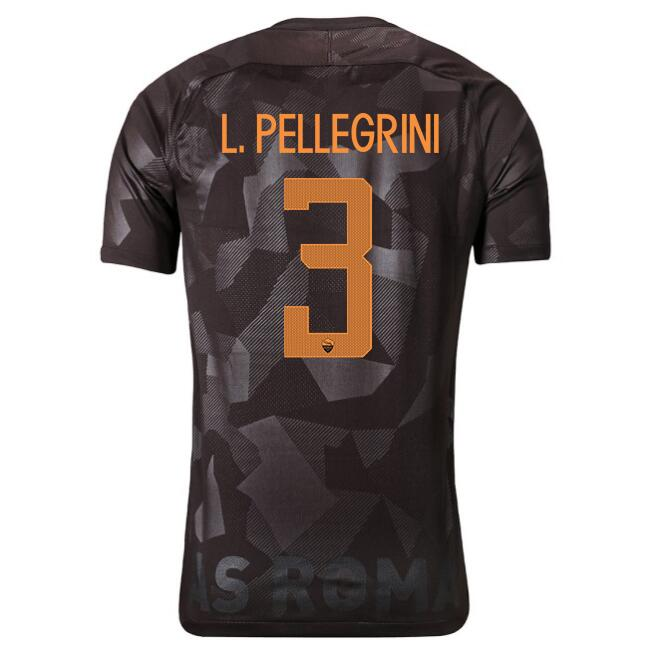 Maillot Foot Pas Cher AS Roma Domicile Jesus 2017 2018