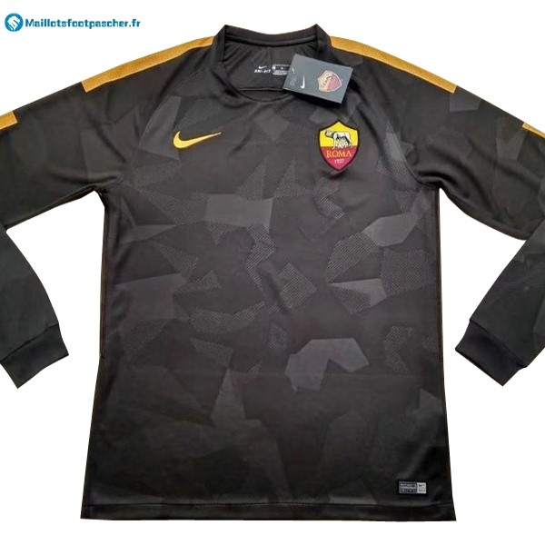 Maillot Foot Pas Cher AS Roma Third ML 2017 2018