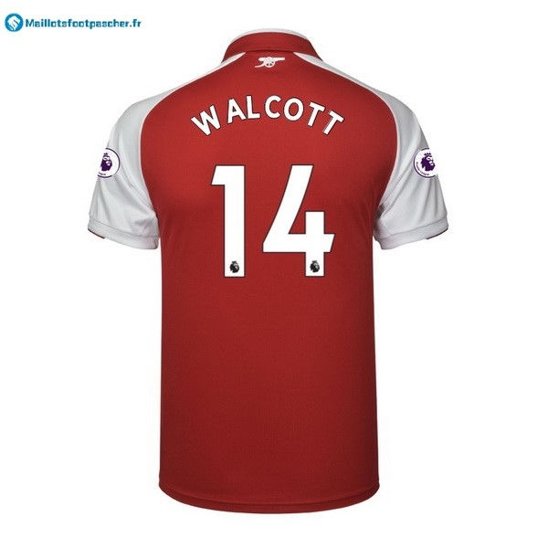 Maillot Foot Pas Cher Arsenal Domicile Walcott 2017 2018