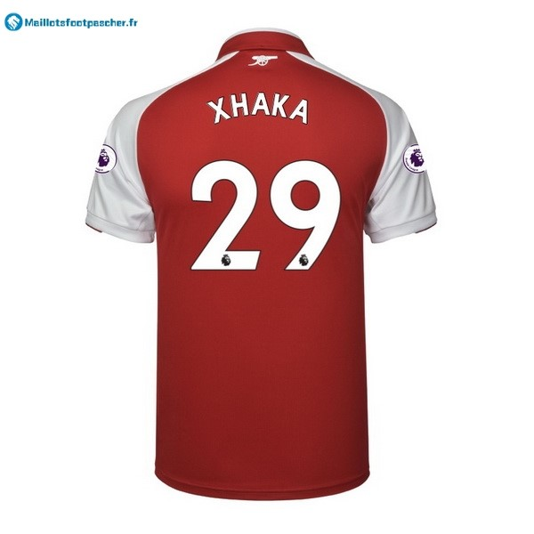 Maillot Foot Pas Cher Arsenal Domicile Xhaka 2017 2018