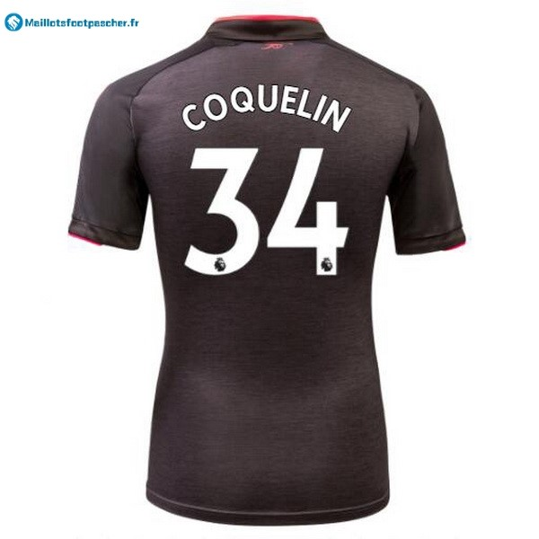 Maillot Foot Pas Cher Arsenal Third Coquelin 2017 2018