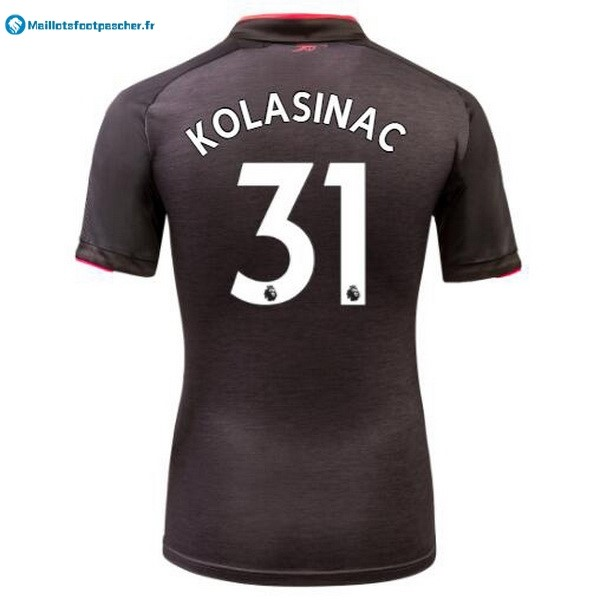 Maillot Foot Pas Cher Arsenal Third Kolasinac 2017 2018