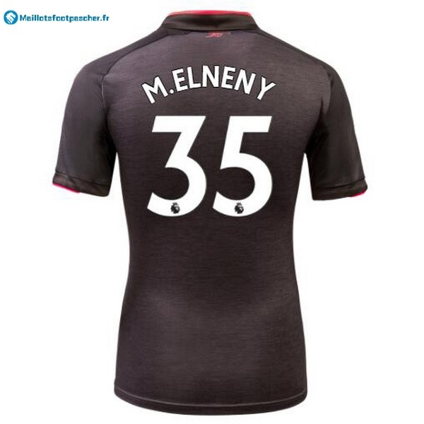 Maillot Foot Pas Cher Arsenal Third M.Elneny 2017 2018