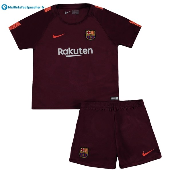Maillot Foot Pas Cher Barcelona Enfant Third 2017 2018