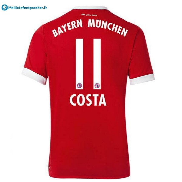 Maillot Foot Pas Cher Bayern Munich Domicile Costa 2017 2018