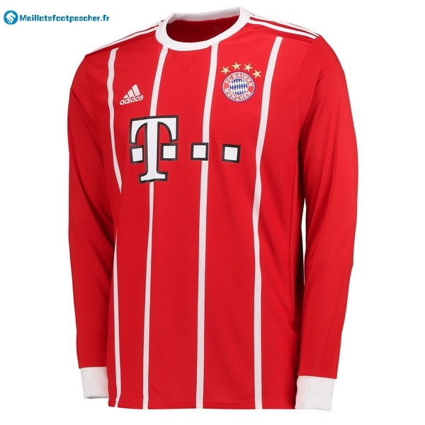 Maillot Foot Pas Cher Bayern Munich Domicile ML 2017 2018