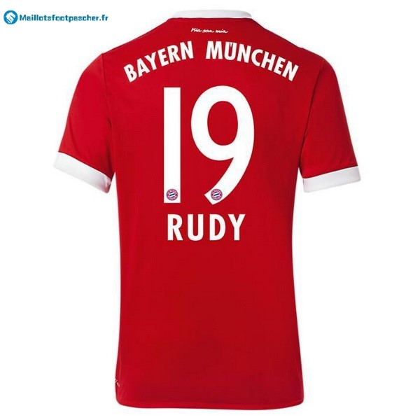 Maillot Foot Pas Cher Bayern Munich Domicile Rudy 2017 2018