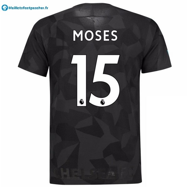 Maillot Foot Pas Cher Chelsea Third Moses 2017 2018