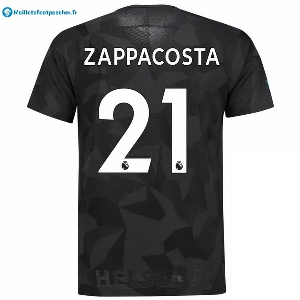 Maillot Foot Pas Cher Chelsea Third Zappacosta 2017 2018