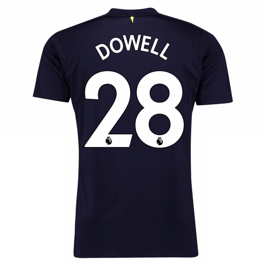 Maillot Foot Pas Cher Everton Third Dowell 2017 2018