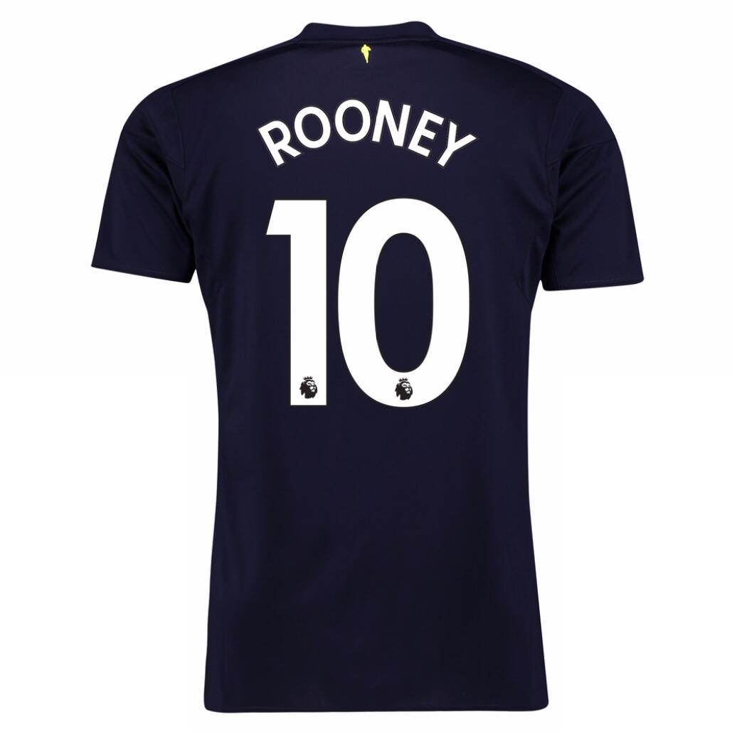 Maillot Foot Pas Cher Everton Third Rooney 2017 2018