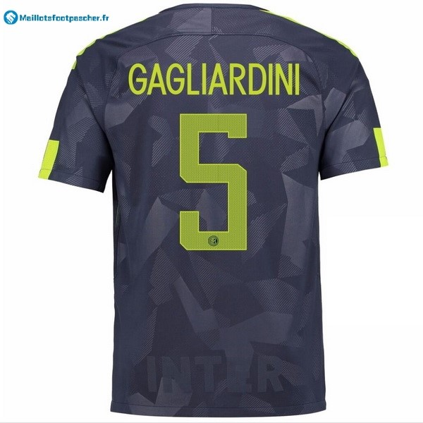 Maillot Foot Pas Cher Inter Third Gagliardini 2017 2018