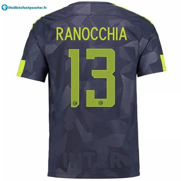 Maillot Foot Pas Cher Inter Third Ranocchia 2017 2018