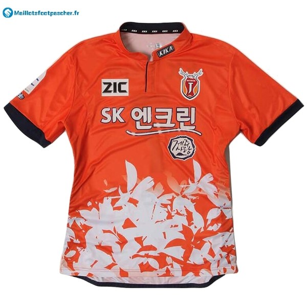 Maillot Foot Pas Cher Jeju United ZIC Domicile 2017 2018